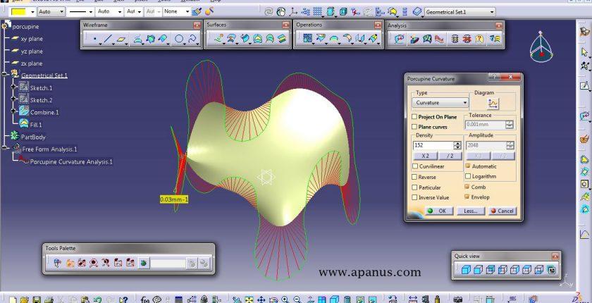 آموزش کتیا - محیط طراحی سطوح Generative shape design