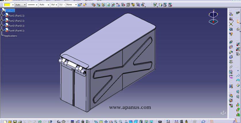آموزش محیط ورق کاری Sheet metal design در کتیا