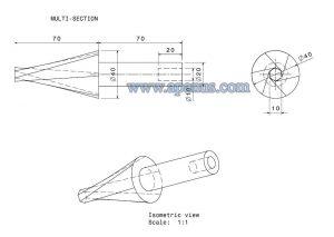 ابزار multi section solid