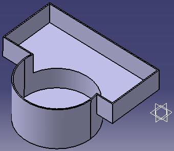 ابزار Shell در محیط Part Design
