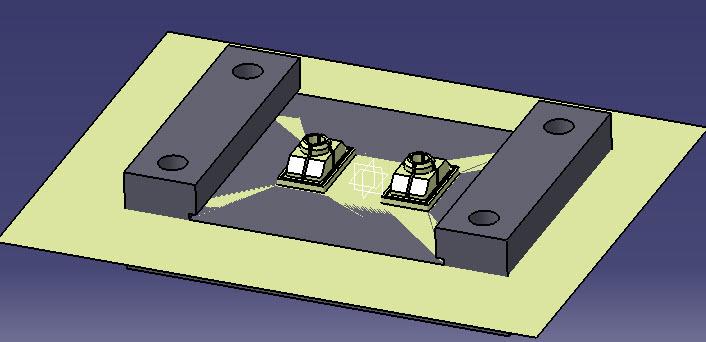 برش سه بعدی قطعهبا ابزار split