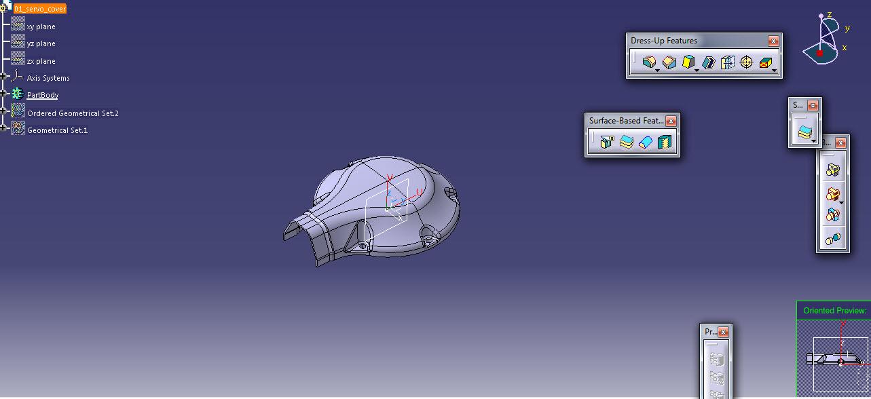 نقشه سه بعدی و ساخت قطعه