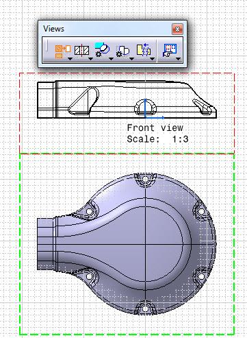 نقشه سه بعدی و ساخت قطعه در Drafting