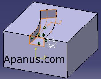 ابزار Slot در محیط Part Design