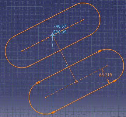 ابزار Translate و Rotate در محیط Sketcher کتیا