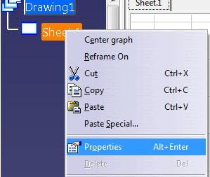 تغییر مقیاس در Drafting کتیا