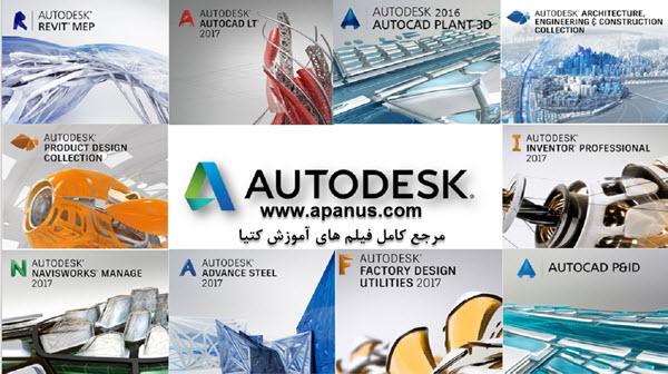 نرم افزارهای شرکت Autodesk
