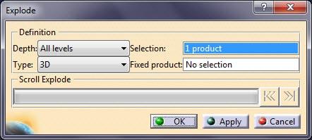ابزار Explode در محیط اسمبلی کتیا