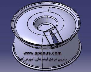 ابزار Circular Pattern در کتیا