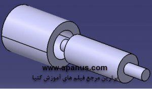 مفصل استوانه ای Cylindrical Joint در محیط Kinematics کتیا