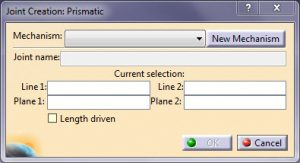 Prismatic Joint در Kinematics کتیا