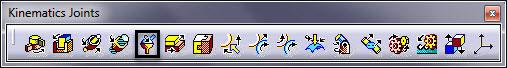 ابزار مفصل کروی در Kinematics کتیا