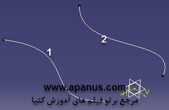 استفاده از منحنی در دستور Sweep