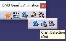 clash در محیط متحرک سازی کتیا