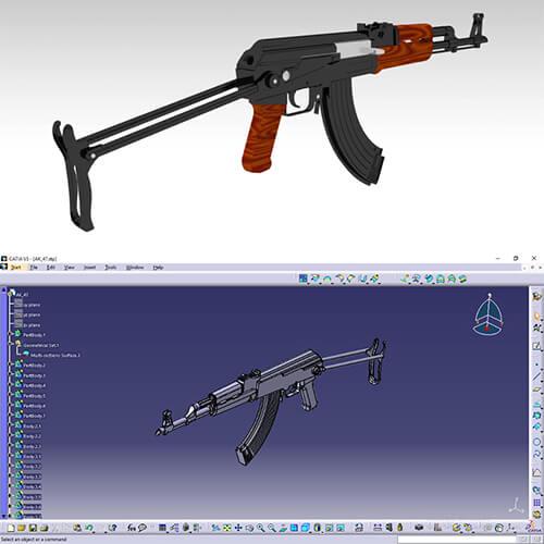 نمونه طراحی های آقای علی احمدی با کتیا