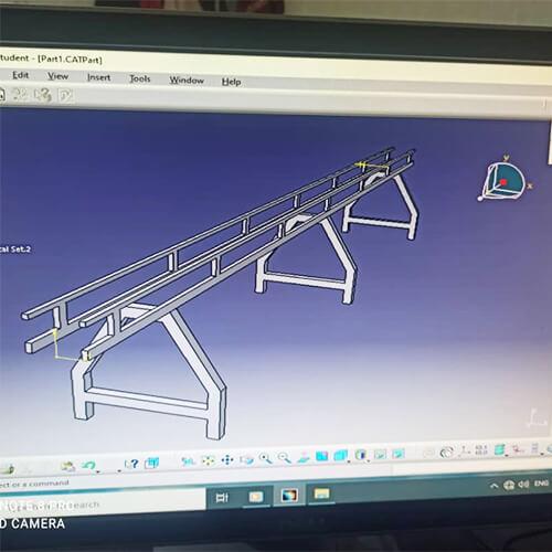 نمونه طراحی های ماشین سازی تابان ماشین با کتیا